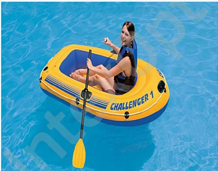 одноместные пластиковые надувные лодки